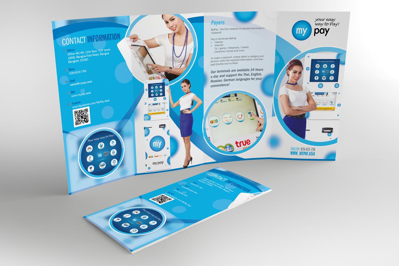 Chana Bangkok Designer My Pay Brochure Design 3
