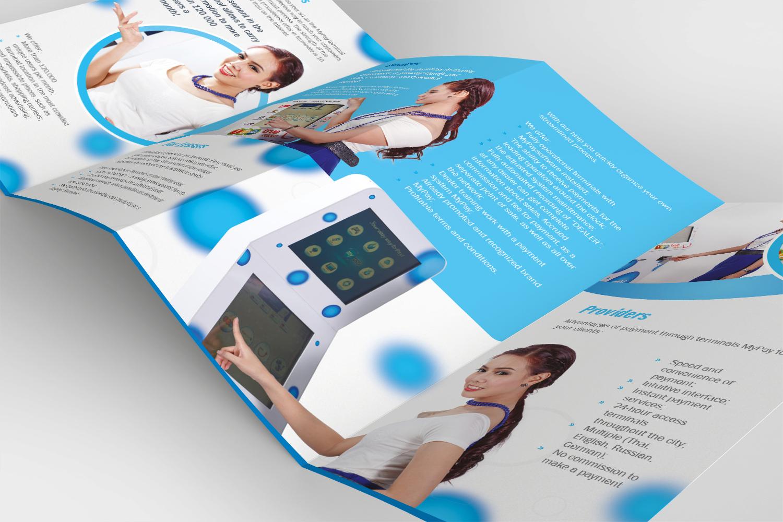 Chana Bangkok Designer My Pay Brochure Design 2