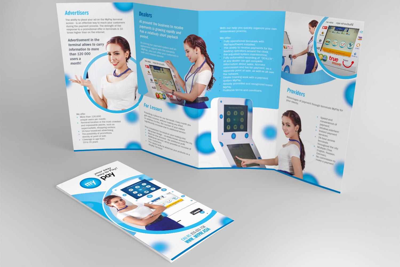 Chana Bangkok Designer My Pay Brochure Design 1